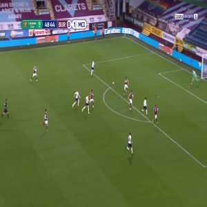 Burnley 0-2 Manchester City - Raheem Sterling 49'
