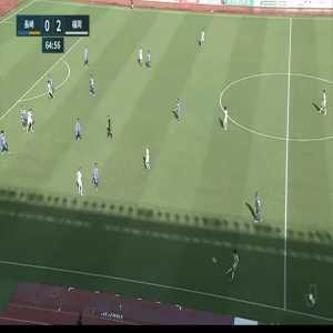 V-Varen Nagasaki 0-(3) Avispa Fukuoka - Daisuke Ishizu nice goal