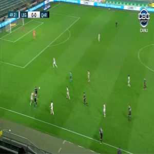 Legia 0-1 Qarabag - Patrick Andrade 50'