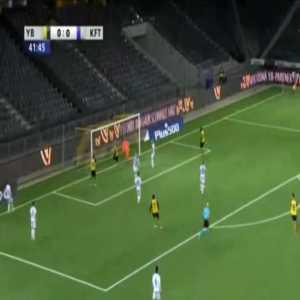 Young Boys 1-0 Tirana - Christian Fassnacht 43'