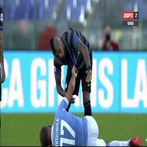 Lazio 1 - 1 Inter - Ciro Immobile red card