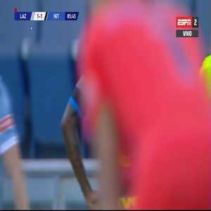 Lazio 1 - 1 Inter - Sensi red card (full clip)