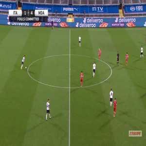 Italy 4-0 Moldova - Veaceslav Posmac OG 37'