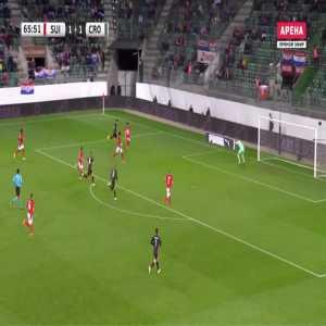 Switzerland 1-[2] Croatia - Mario Pasalic 66'
