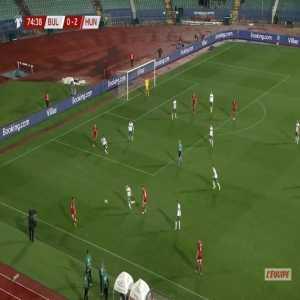 Bulgaria 0-3 Hungary - Nemanja Nikolics 75'