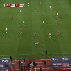 Bulgaria [1]-3 Hungary - Georgi Yomov 89'