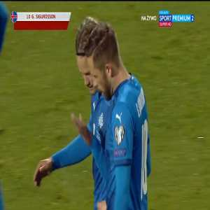Iceland 1-0 Romania - Gylfi Sigurðsson 16'
