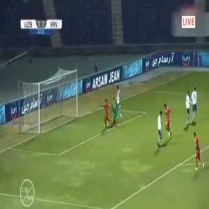 Uzbekistan 0-[1] Iran: Sardar Azmoun 44'