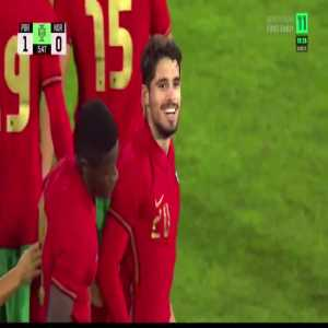 Portugal U21 [1]-0 Norway U21 - Pedro Neto 6'