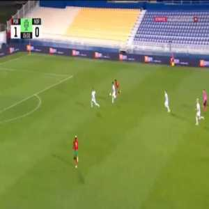 Portugal U21 2-0 Norway U21 - Pedro Neto 16'