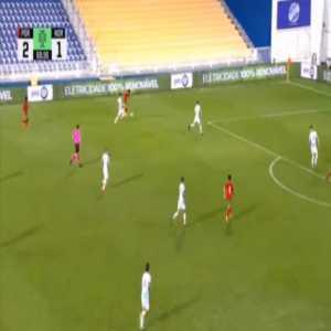 Portugal U21 [3]-1 Norway U21 - Vitor Ferreira 69'