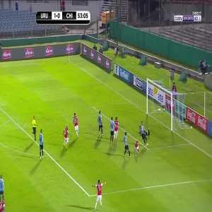 Uruguay 1 - [1] Chili - Alexis Sanchez 54'