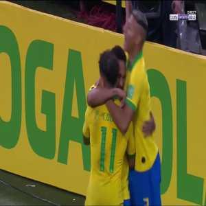 Brazil [5] - 0 Bolivia - Coutinho 73'