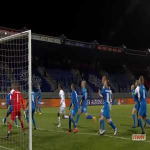 Iceland 0-1 Denmark - Runar Sigurjonsson OG 45'