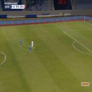 Iceland 0-2 Denmark - Christian Eriksen 46'