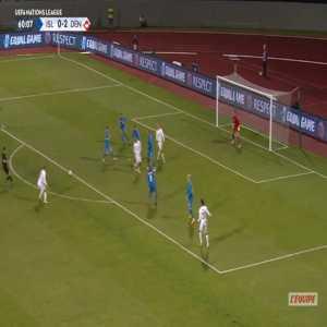 Iceland 0-3 Denmark - Robert Skov 61'