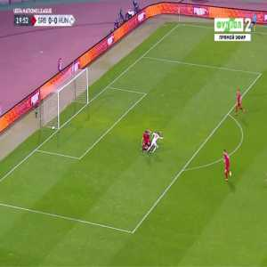 Serbia 0-1 Hungary - Norbert Konyves 20'