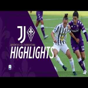 [Women] Juventus vs Fiorentina 4-0 | Match Highlights | 5th Round Serie A Femminile 2020/21