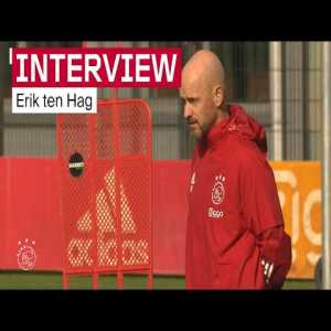 [Ajax YT] Erik Ten Hag: 'We looked for a 'number 9' of top quality, but that was not attainable within our budget'. Later, when asked about Suarez, goes on to say that they did look into 'that category of players'
