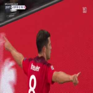 Germany 0 - [2] Switzerland - Freuler great chip goal 26'
