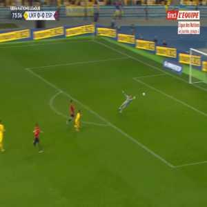 Ukraine 1-0 Spain - Viktor Tsygankov 76'