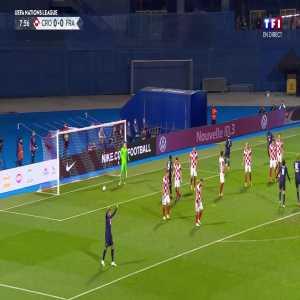 Croatia 0 - [1] France - Antoine Griezmann 9'