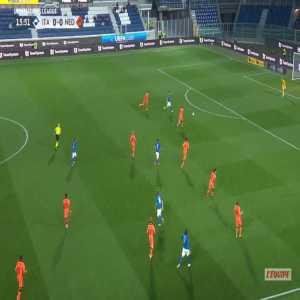 Italy 1-0 Netherlands - Lorenzo Pellegrini 16'