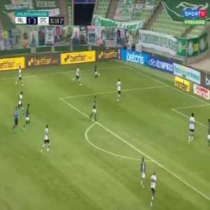 Palmeiras 1 - 3 Coritiba - GK Wilson rabona pass