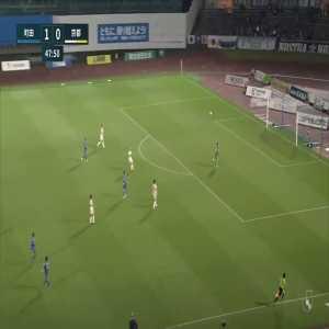 Machida Zelvia (2)-0 Kyoto Sanga - Leo Takae nice long shot goal