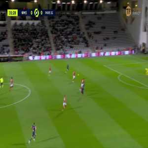 Nimes 0 - [1] PSG - Kylian Mbappé 32'