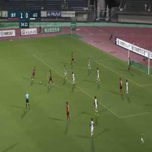 Zweigen Kanazawa (1)-0 Renofa Yamaguchi - Raisei Shimazu nice long shot goal