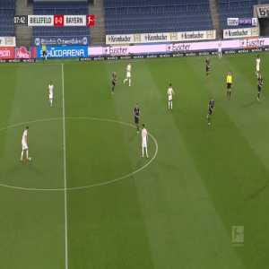 Arminia Bielefeld 0-1 Bayern Munich - Thomas Muller 8'