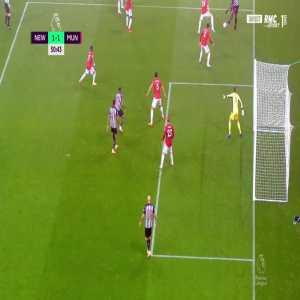 David De Gea great save against Newcastle 51'