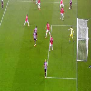 De Gea great save vs Newcastle