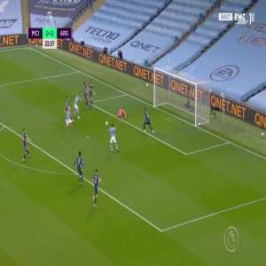 Manchester City [1] - 0 Arsenal - Raheem Sterling 23'