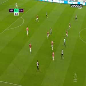 Newcastle 1-0 Manchester Utd - Luke Shaw OG 2'