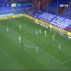 Sampdoria 3-0 Lazio - Mikkel Damsgaard 74'