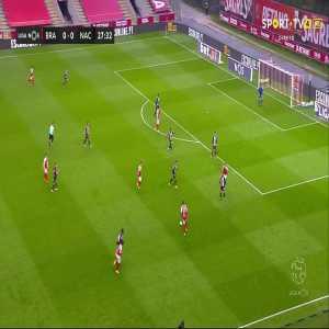 SC Braga [1]-0 CD Nacional - Fransérgio 28' (great goal)