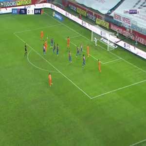Trabzonspor 0-2 Basaksehir - Edin Visca 53'