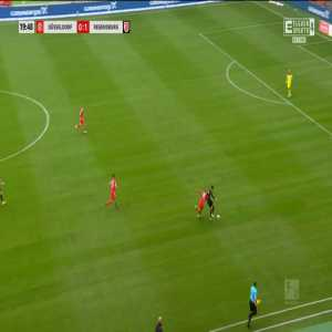 Fortuna Düsseldorf 0-2 Jahn Regensburg - Sebastian Stolze 20'