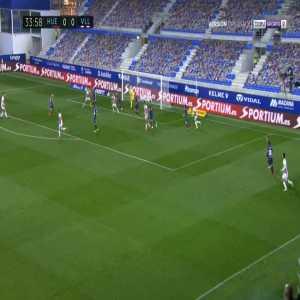 Huesca 0-1 Real Valladolid - Bruno Gonzalez 35'