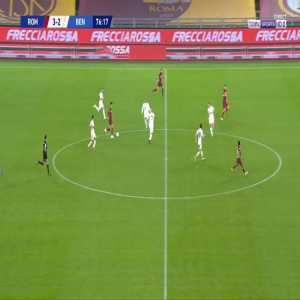 Roma [4]-2 Benevento - Edin Dzeko 77'