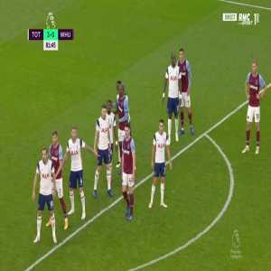 Tottenham 3 - [1] West Ham - Balbuena 82'