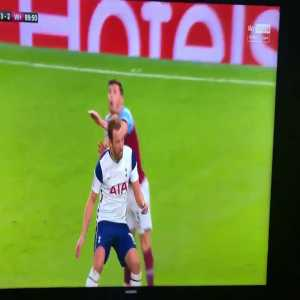 Harry Kane dangerous challenge vs. West Ham