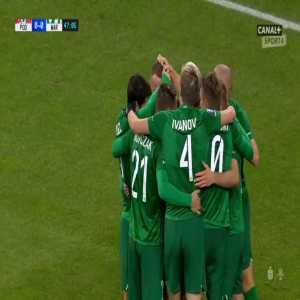 Podbeskidzie Bielsko-Biała 0-1 Warta Poznań - Mateusz Kuzimski 47' (Polish Ekstraklasa)