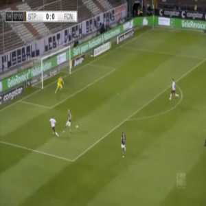St. Pauli 0-1 Nurnberg - Manuel Schaffler 8'