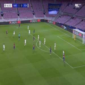 Barcelona 2-0 Ferencvaros - Ansu Fati 42'