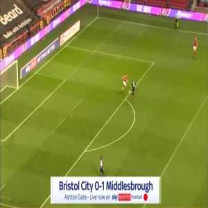Bristol City 0-1 Middlesbrough - George Saville 73'