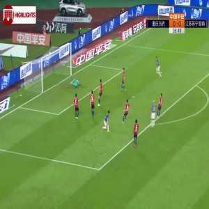 Chongqing Lifan 0-(1) Jiangsu Suning - Alex Teixeira goal