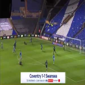 Coventry 1-[1] Swansea - Andre Ayew 41'